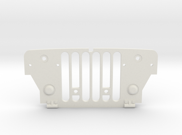 Tamiya Wild Willy Grill in White Natural Versatile Plastic