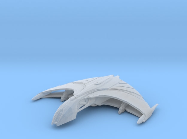 Arkala romulan ship in Smooth Fine Detail Plastic