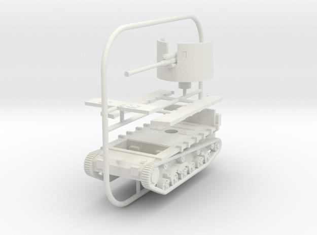 1/72 Skoda MU-6 (PUV-6) SPG in White Natural Versatile Plastic