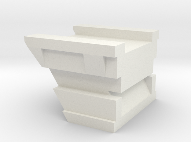 1/96 Scale Cruiser Regulus Stowage Platform in White Natural Versatile Plastic