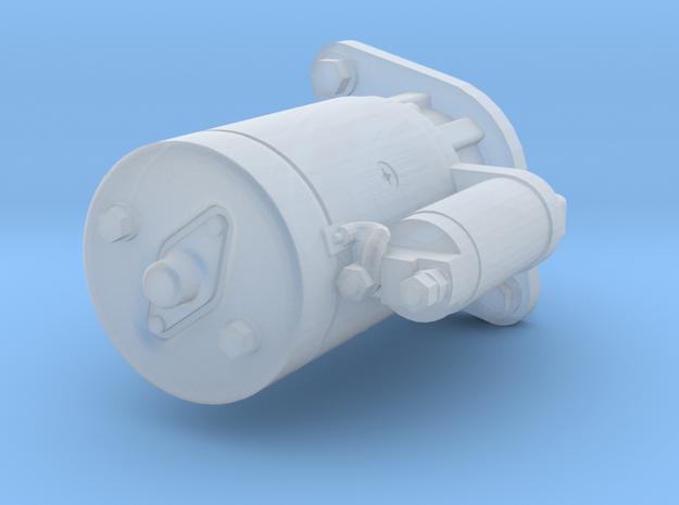 1/25 Starter Motor  in Smoothest Fine Detail Plastic