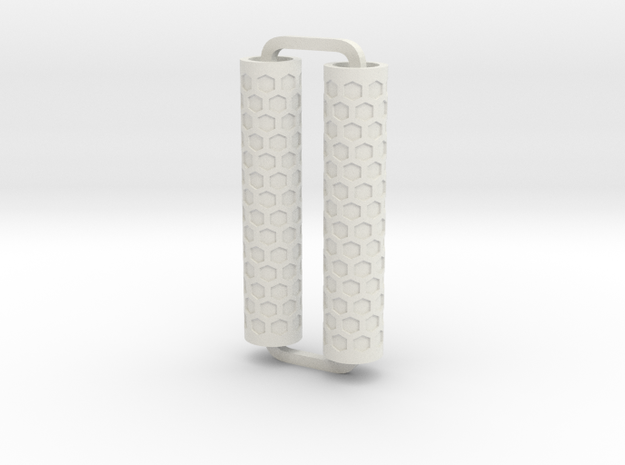Slimline Pro honeycomb ARTG in White Natural Versatile Plastic