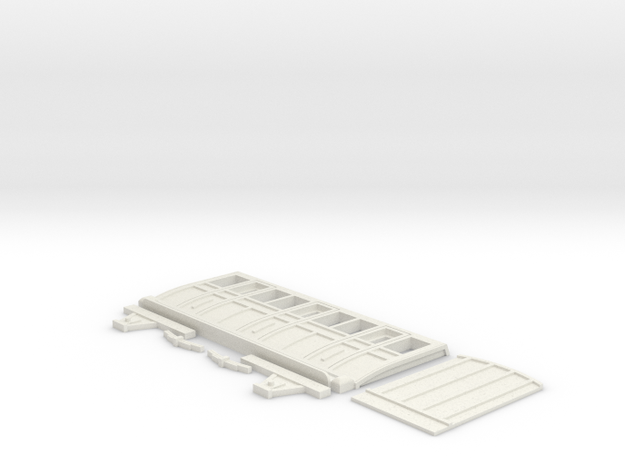 G1 NG S4 Red Coach Kit (Half) in White Natural Versatile Plastic