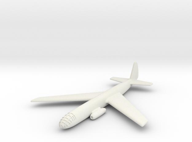 (1:285) Junkers EF 116 (Forward Swept Wings) in White Natural Versatile Plastic