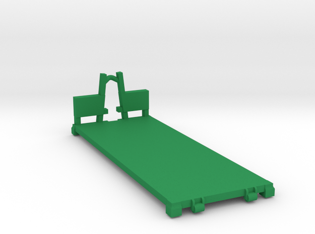 M1077 PLS Flat Rack in Green Processed Versatile Plastic: 1:144