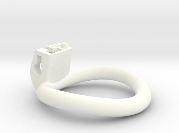 Cherry Keeper Ring - 42mm -5 degree in White Processed Versatile Plastic