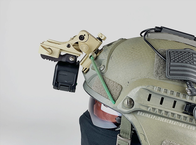 NVG GoPro (Wilcox Dovetail / Shoe) in Black PA12