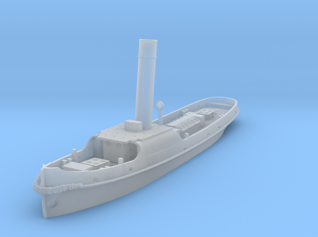 British steam tug Simla 1898 1:400 in Smooth Fine Detail Plastic
