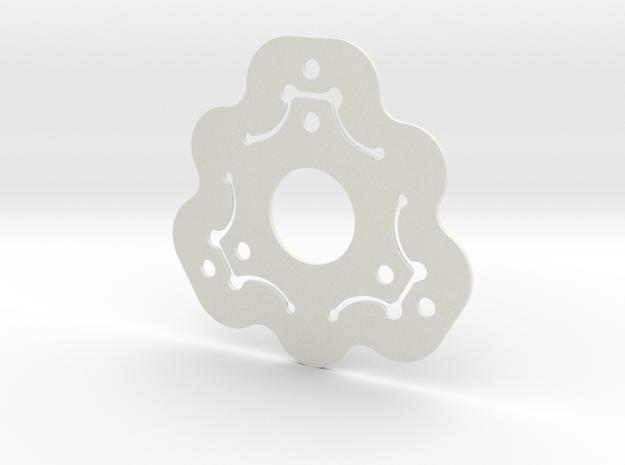 NicNac'3 | A in White Natural Versatile Plastic