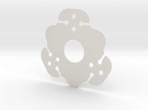 NicNac'3 | B in White Natural Versatile Plastic