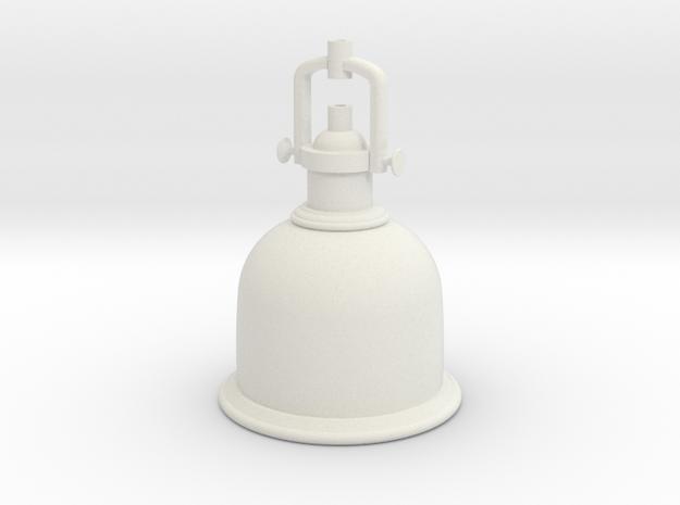 Industrial Lamp in White Natural Versatile Plastic