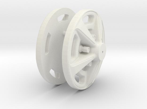 0002 in White Natural Versatile Plastic