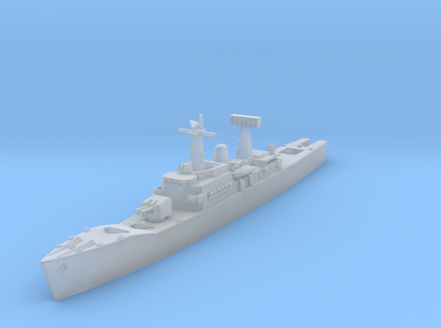 Leander Class Frigate (cold war) in Smooth Fine Detail Plastic: 1:1250