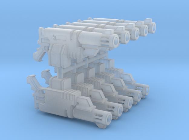 Delaque Autopistol (x10) in Smooth Fine Detail Plastic