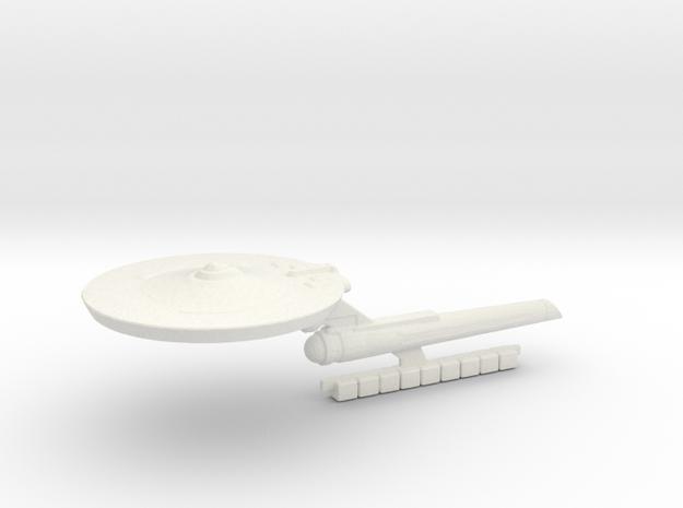 Cutter Class Tos Era in White Natural Versatile Plastic