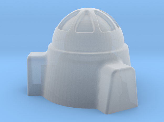 2mm / 3mm Domed Building in Smooth Fine Detail Plastic