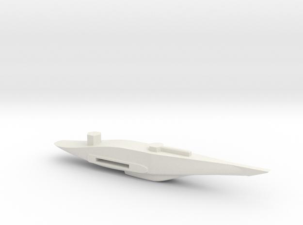 P-51 Strega Belly in White Natural Versatile Plastic