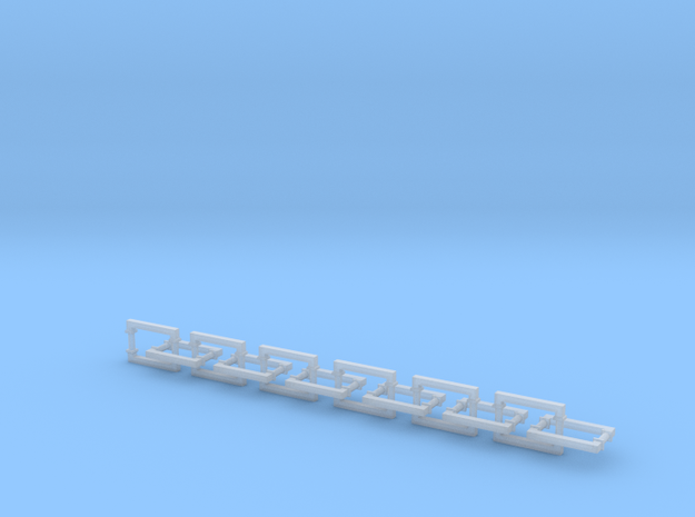Handles with Bases (24) in Smooth Fine Detail Plastic