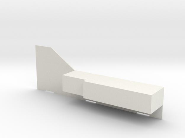 F16 COCKPIT SKYMASTER (D) in White Natural Versatile Plastic