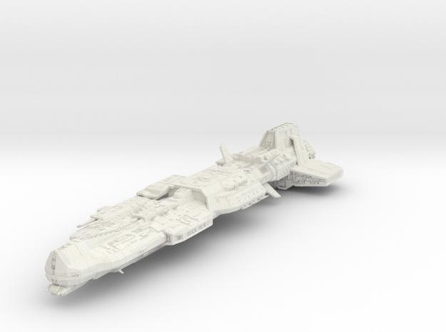 Aurora 350 Hollow II in White Natural Versatile Plastic