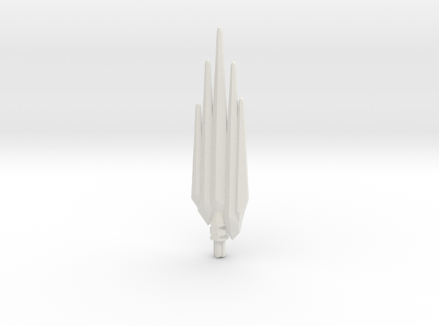 Tool Extension Ice Spikes in White Natural Versatile Plastic