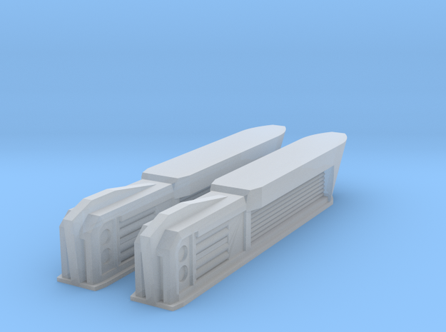 1000 PEA NiteFlyer Nacelles in Smooth Fine Detail Plastic