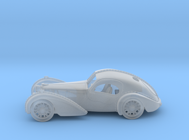 Bugatti Atlantic 1938  1:160 N in Smooth Fine Detail Plastic