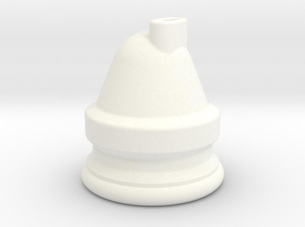 BSA E35 Oil Pressure switch Rubber pattern in White Processed Versatile Plastic