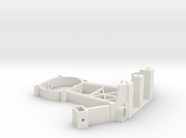 [B3] Motor Mount Bracket Arm in White Natural Versatile Plastic