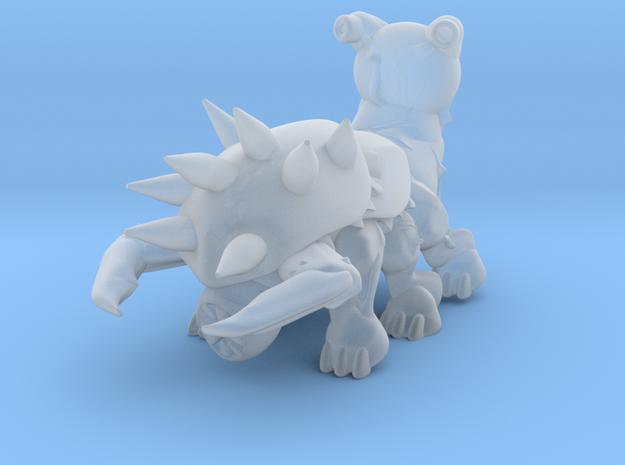 Bio monster assault type medium size  in Smooth Fine Detail Plastic