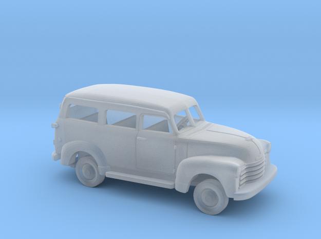 1/87 1947 - 54 Chevrolet Suburban Kit in Smooth Fine Detail Plastic