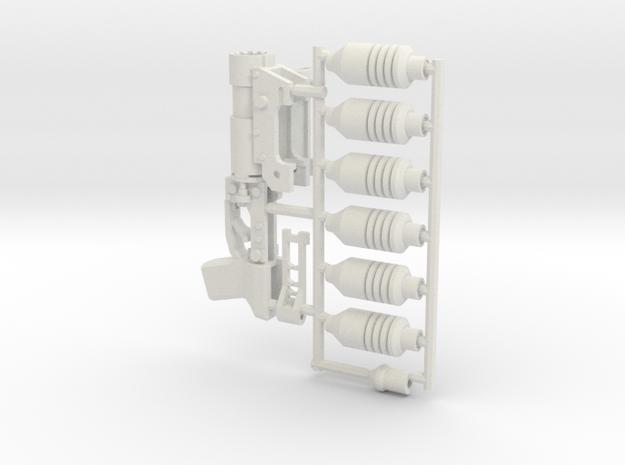 1:6 scale GP-30 versatile plastic in White Natural Versatile Plastic