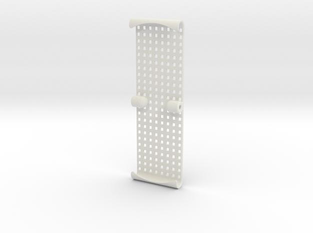 SC6.1 wheelie bar protective net in White Natural Versatile Plastic