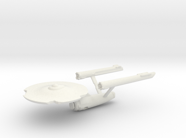 Damaged Constitution Class in White Natural Versatile Plastic