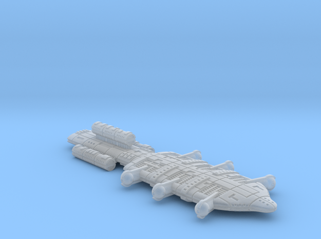 Gorm (GSN) Battleship in Smooth Fine Detail Plastic