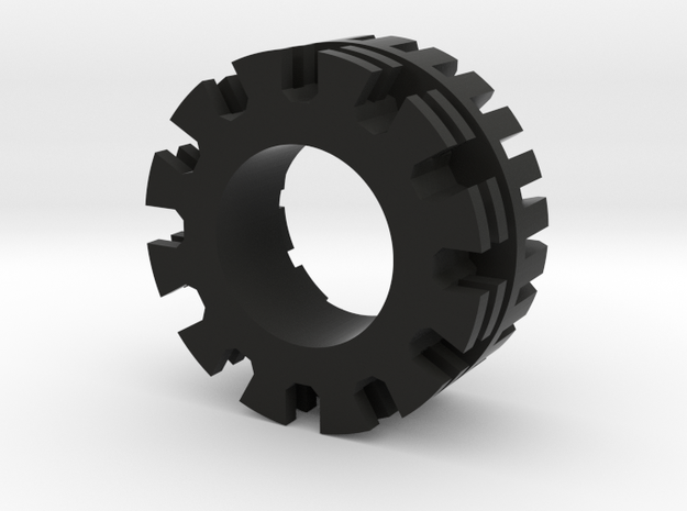 Plug Core A in Black Natural Versatile Plastic