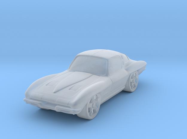 Chevrolet Corvette StingRay  1:87 HO in Smooth Fine Detail Plastic
