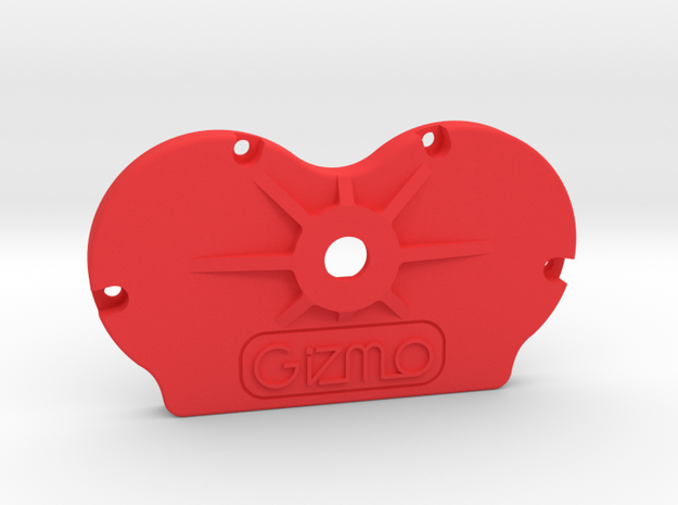 Cinetape Back (PART CIN-BCK01) in Red Processed Versatile Plastic