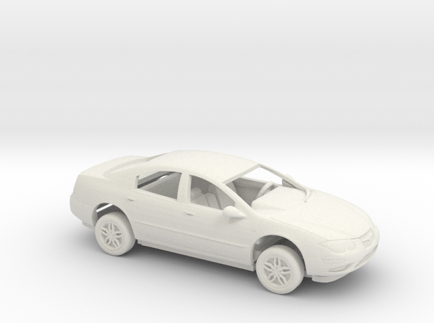 1/43 1998 Chrysler 300M Kit in White Natural Versatile Plastic