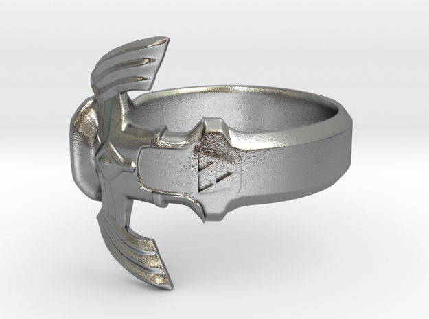 The Master Sword Ring in Natural Silver: 9 / 59