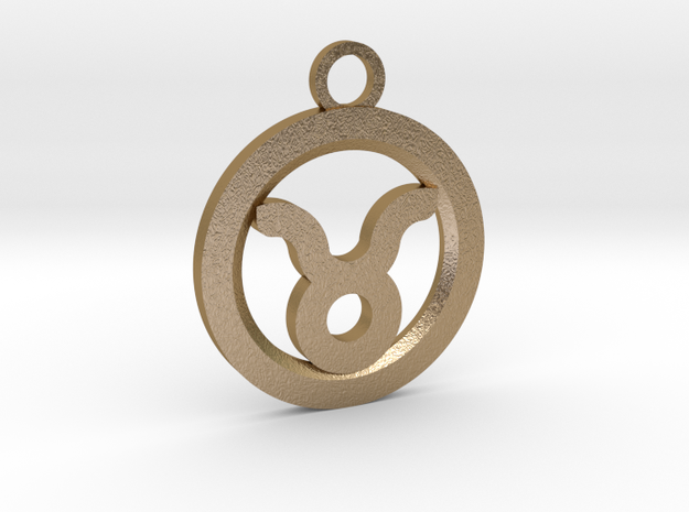 Taurus in Polished Gold Steel