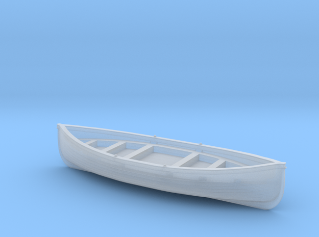 Manly Ferry Traditional Timber Lifeboat in Smoothest Fine Detail Plastic