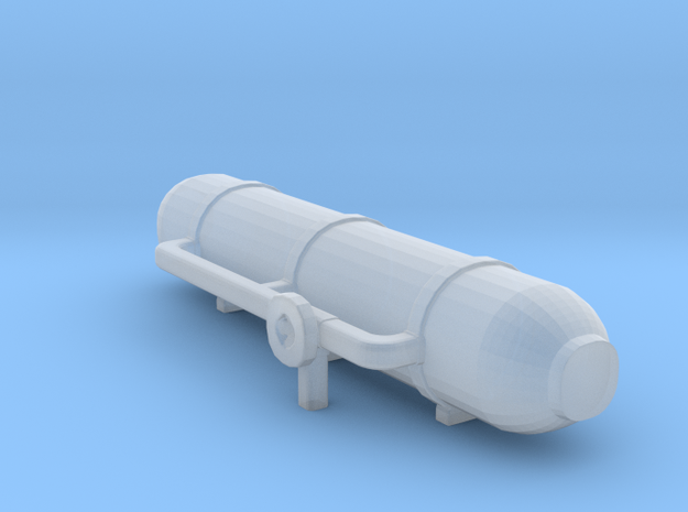 water/ gas tank 4 in Smooth Fine Detail Plastic