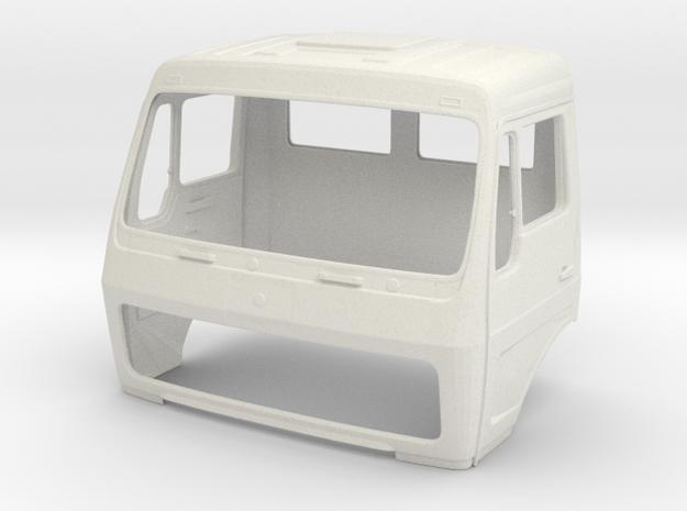1:14 Kabine mit Heckfenster NG Cabin Truck Part 1 in White Natural Versatile Plastic