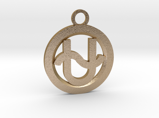 Ophiuchus in Polished Gold Steel