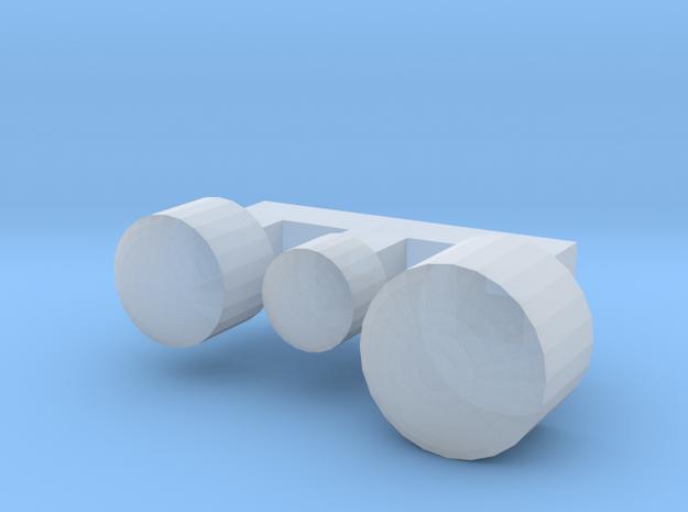 L Wiener Linien Scheinwerfernägel in Smooth Fine Detail Plastic