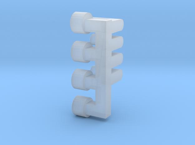 UDZ Lichtnägel Scheinwerfer in Smooth Fine Detail Plastic