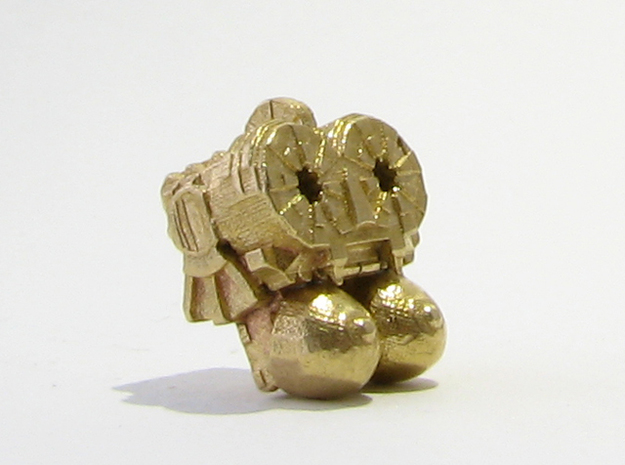 Aztec Bead Chantico SA in Natural Brass