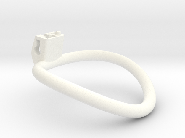 Cherry Keeper Ring - 65mm in White Processed Versatile Plastic