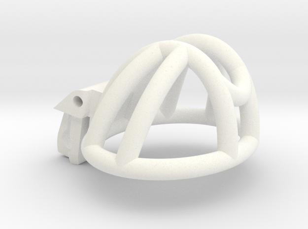 Cherry Keeper Custom CKC-5LPUFO-19 in White Processed Versatile Plastic